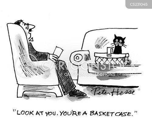 mature basket case