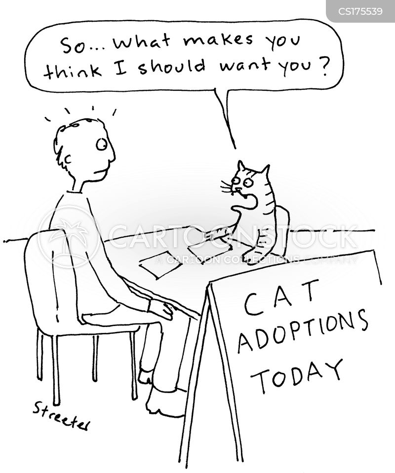 adopting cartoon