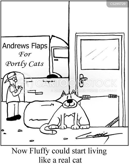 portly cartoon
