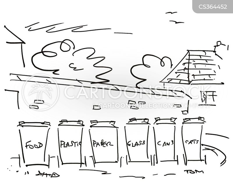 wheelie bin cartoon