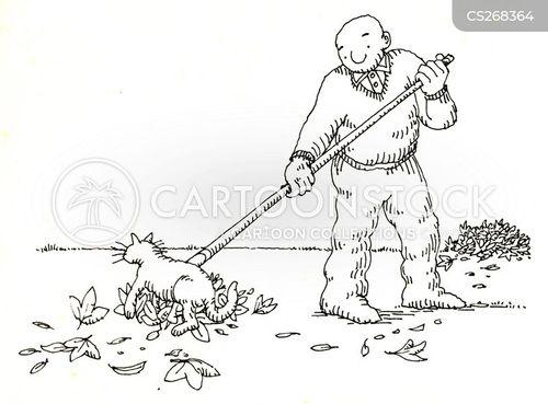 autumnal cartoon