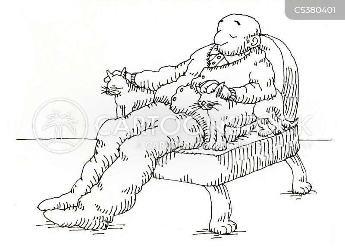 sitting rooms cartoon