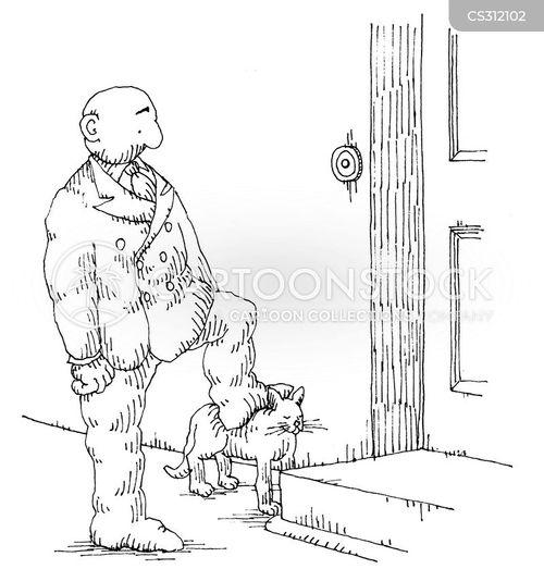 doorsteps cartoon