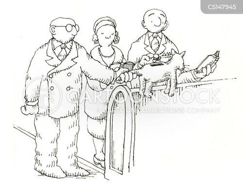 collection box cartoon