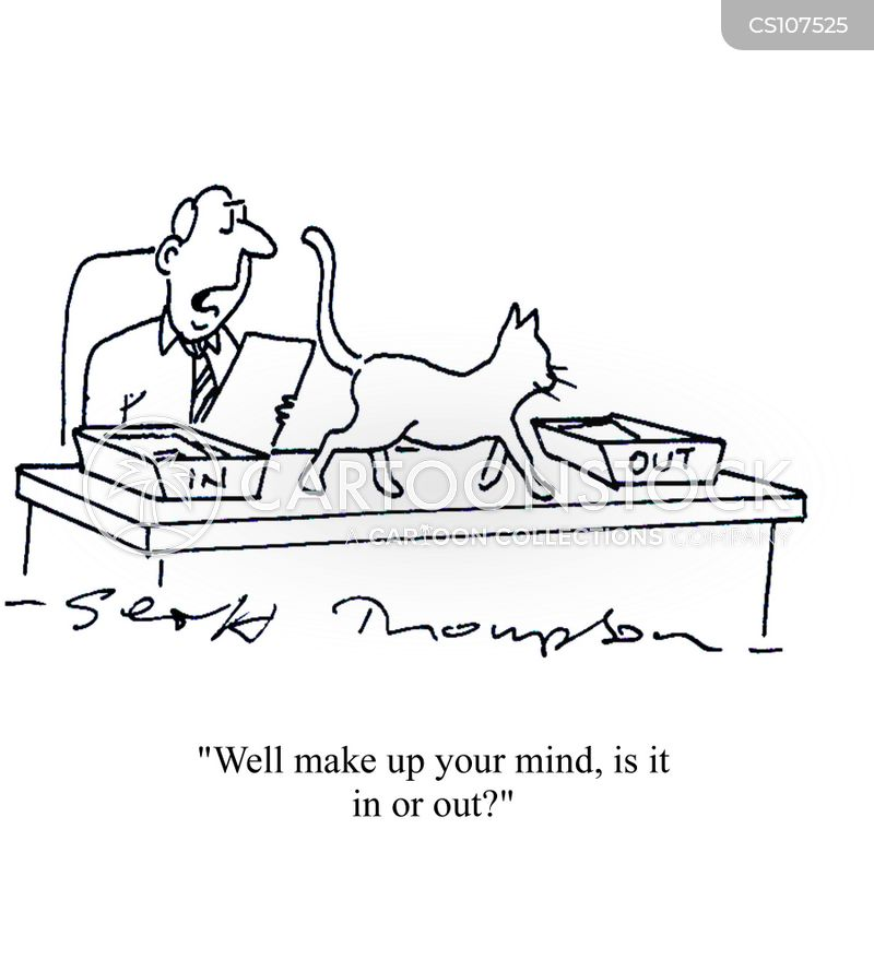 make up your mind cartoon