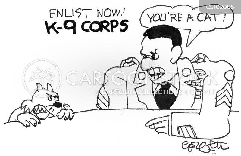 enlist cartoon