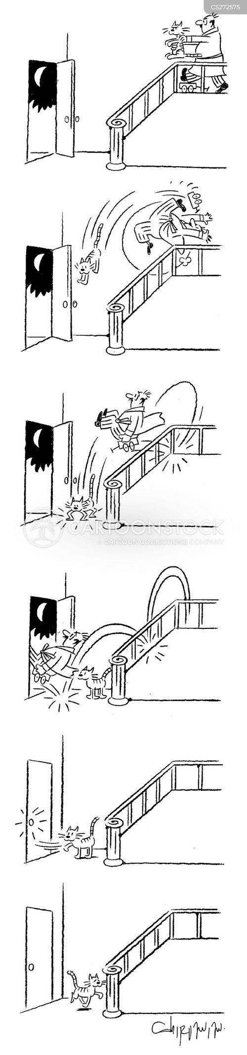 shut out cartoon