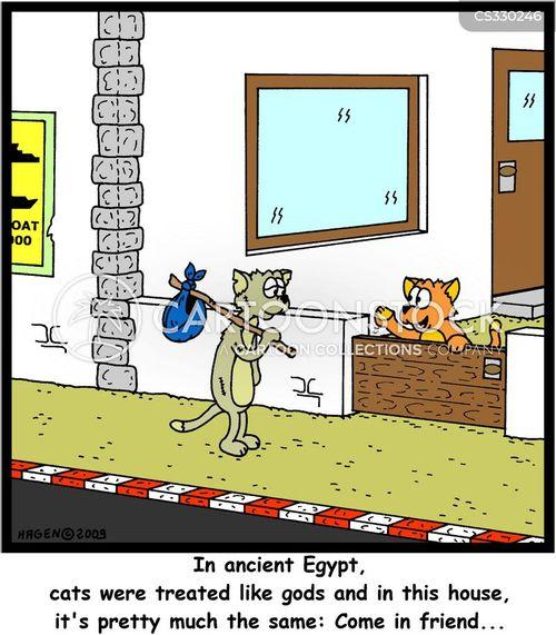 egyptian god cartoon