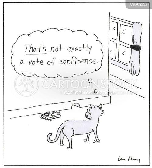 votes of confidence cartoon