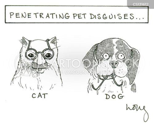 house pet cartoon