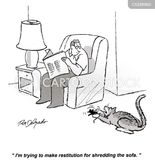 restitution cartoon