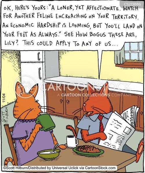 hardship cartoon