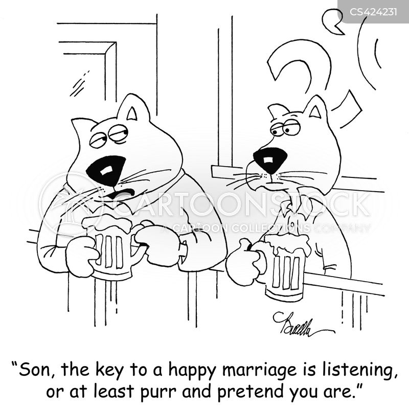 marital tips cartoon