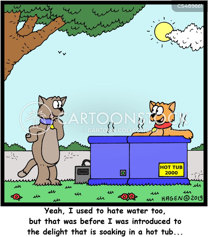 water phobias cartoon