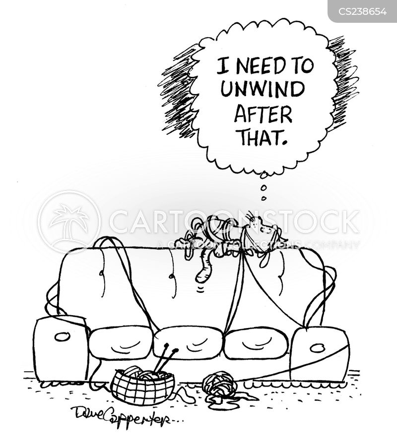 unwinds cartoon