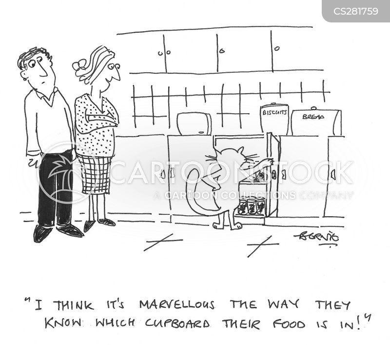 cupboards cartoon