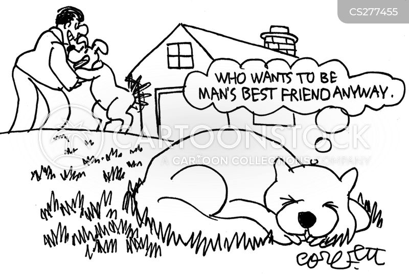 loyal companion cartoon