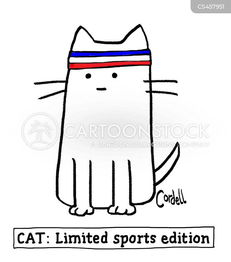 sweatbands cartoon