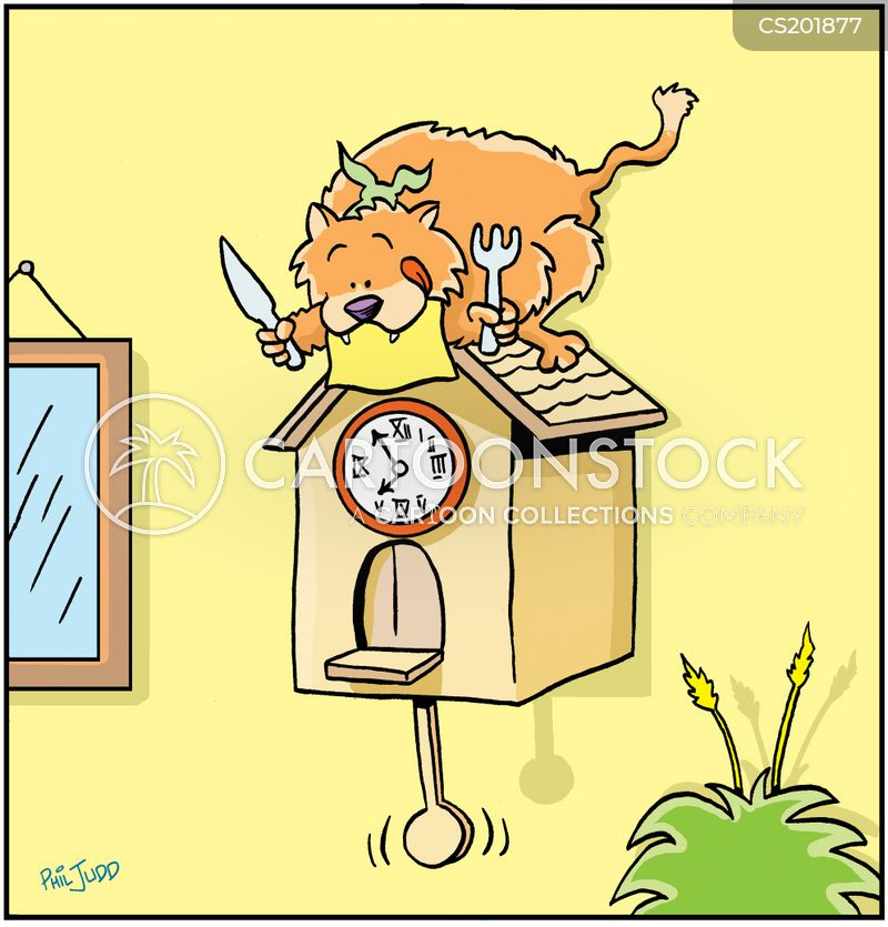 cuckoo clocks cartoon