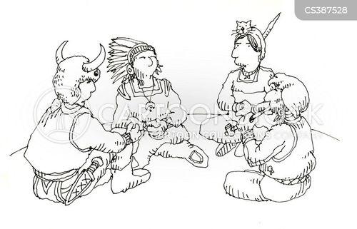 chieftains cartoon
