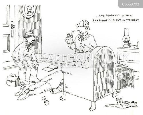 blunt instrument cartoon