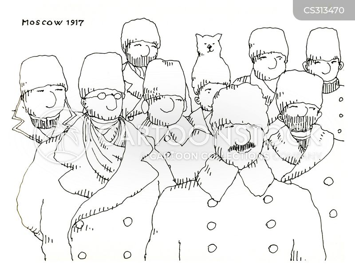 stalin cartoon