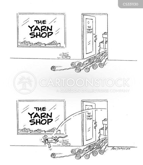 yarns cartoon