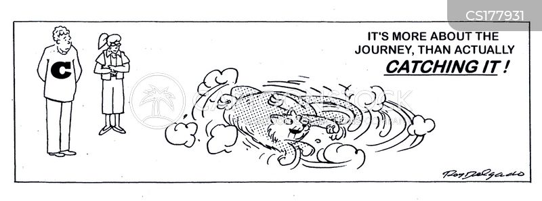 cat owning cartoon
