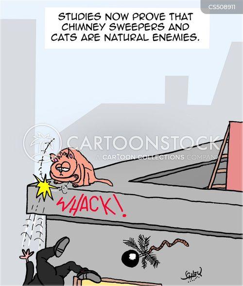 chimney sweepers cartoon