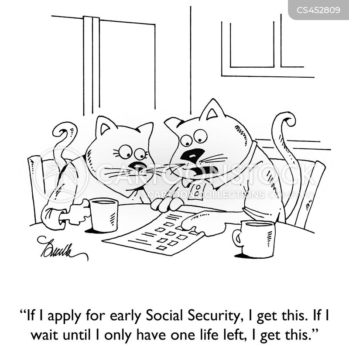 benefits claim cartoon