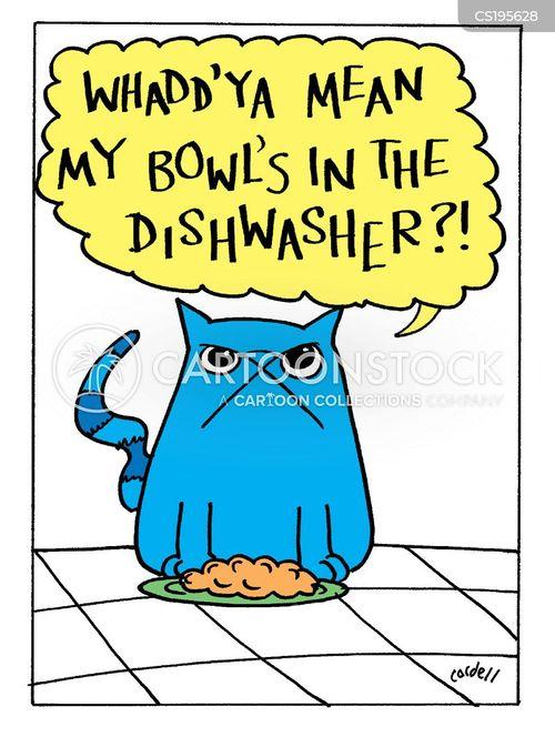 dishwasher cartoon