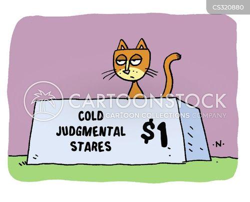 cat behaviors cartoon