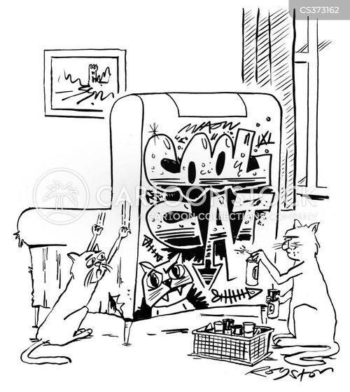 wrecking cartoon