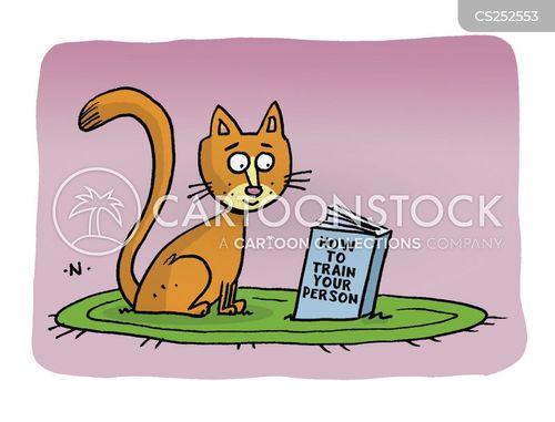 animal training cartoon