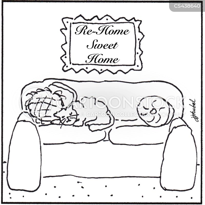 rehome cartoon
