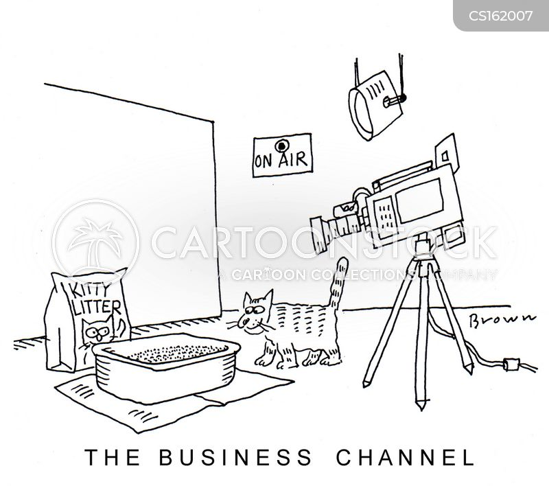 television studios cartoon