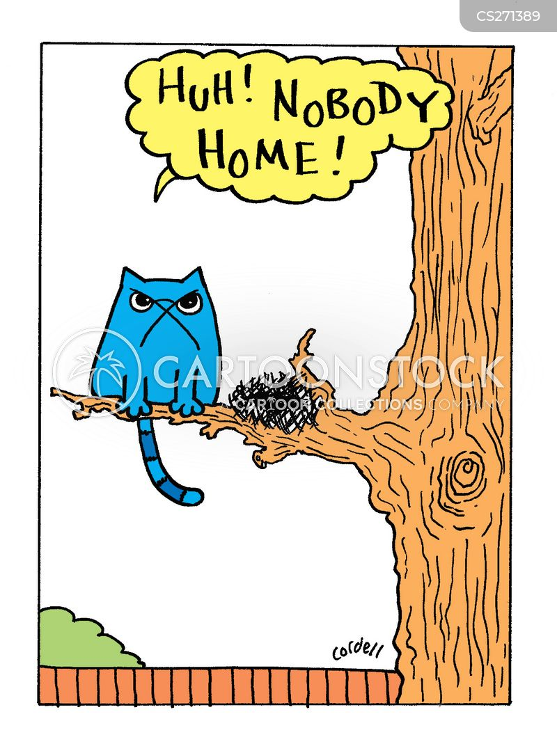 nobody home cartoon