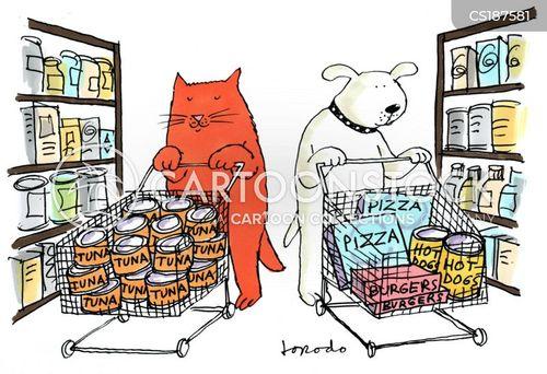 dogfood cartoon