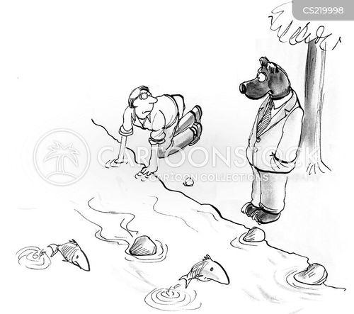 riverbank cartoon