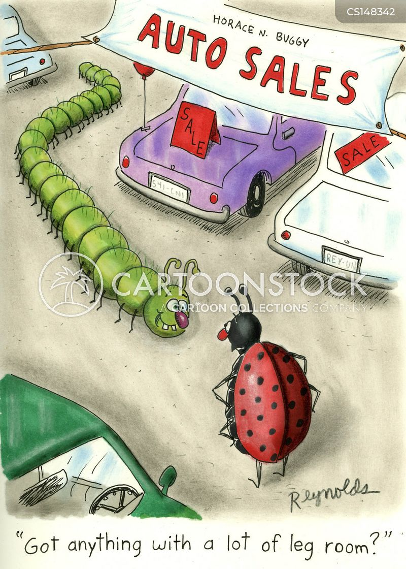 mini beasts cartoon