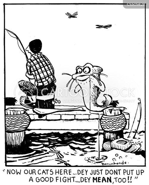 catfishes cartoon