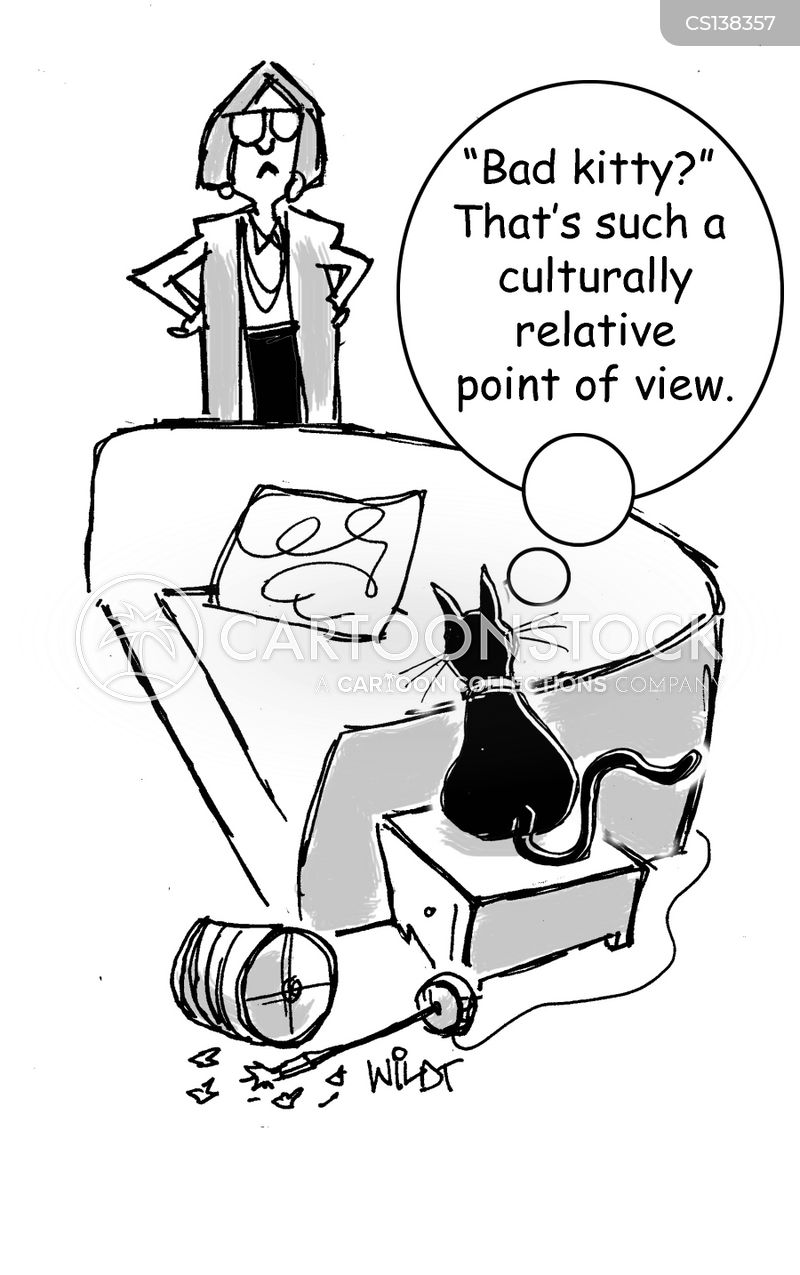 personal opinions cartoon