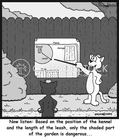 dangerous dogs cartoon