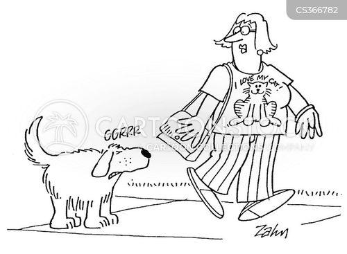 distasteful cartoon