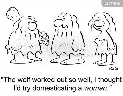 domesticate cartoon