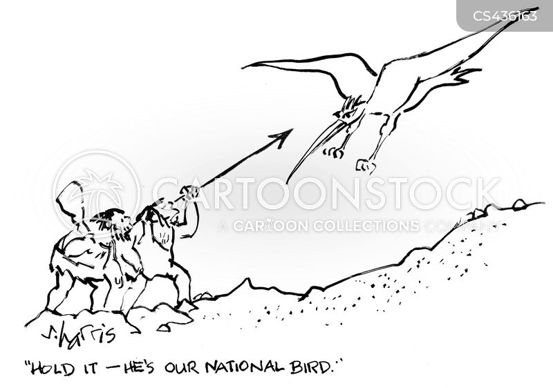 national icons cartoon