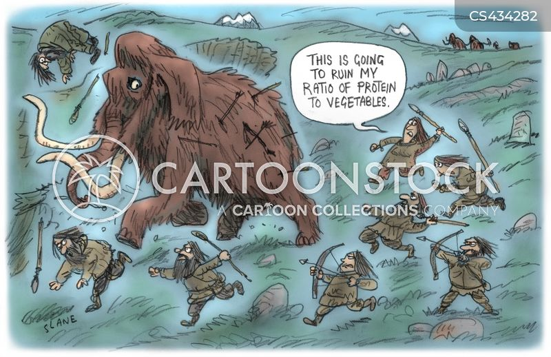 neolithic cartoon
