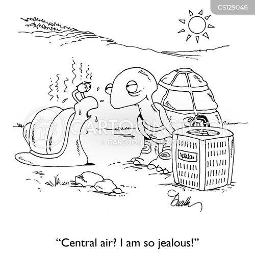 central air cartoon