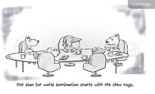 evil genius cartoon