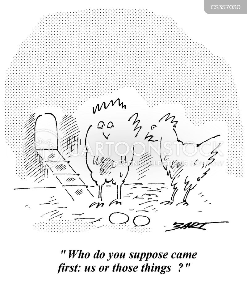 which came first cartoon